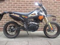 Pulse Adrenaline 125cc M.O.T till Aug low miles