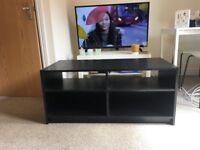Black Wooden TV Stand 4 shelves (Cranbrook, Exeter)
