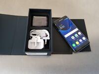 SAMSUNG S7 EDGE UNLOCKED MINT CONDITION BOX SEALED ACESSORIES £230