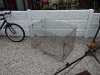 Dog cage / pet cage / animal cage / xl dog cage / galvanised metal dog cage / dog crate /