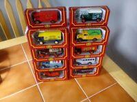 10 corgi vehicles village collection