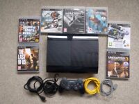Playstation 3 (500GB) with 7 game