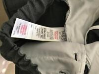 Unworn and brand new M and S Skinny fit boys grey school trousers age 6-7 . Two pairs
