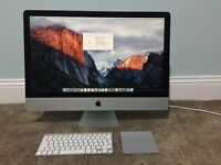 Late 2012 Slim 27 Apple iMac i7 3.4ghz 16GB RAM 256GB SSD 2GB Nvidia 680MX GPU