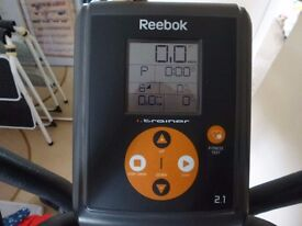 Cross-Trainer. Rebook I series, 2.1. Heart Rate Monitor. Used Indoors Only. Full User/Parts Manual