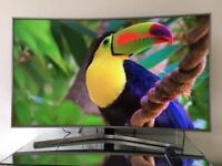 "SAMSUNG 4K Ultra HD Smart Curve TV HUGE SCREEN 55 """