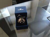 Swarovski Gold & Black Ring Unique