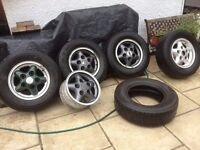 Landrover discovery 200/300 tdi alloys and tyres. Swap mig