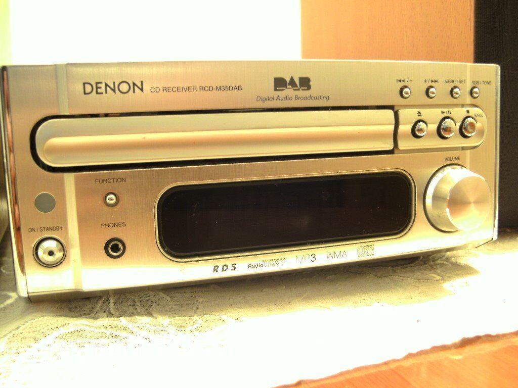 Mini Hi Fi DENON RCD-M35DAB