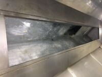 Kitchen Extraction Ventilation Clean,Canopy DuCt Fan With Certificate