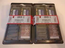 Kingston HyperX DDR2 SODIMM PC2-6400 4GB kit (2 kits available)