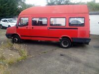 ldv convoy van would make nice catering van or motorcycle transporting van