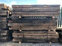 🌳 Wooden Sleepers ~ Reclaimed ~ 2600mm