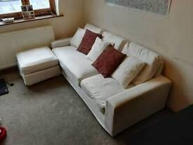 Sofa + Table & Chairs