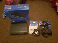 PS3 with Games and 3 Controllers Free HDMI cable