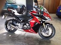 Suzuki GSX S1000f, excellent condition.