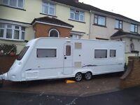 Fleetwood Heritage 640BB, 2005 4 Birth Caravan