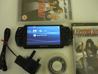 SONY PSP 2003 CONSOLE HANDHELD BLACK