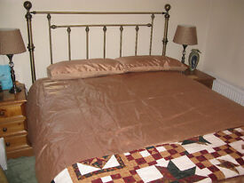 King size bed with mattress