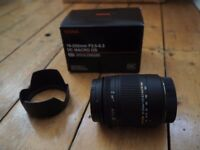 Sigma Lens suitable for Canon, 18 - 250 mm