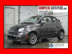 2014 Fiat 500C Lounge Convertible *Cuir 2 tons, Superbe look