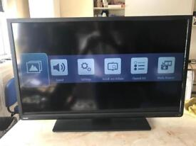 """40"""" toshiba led tv,built in freeview like new,delivery available"""