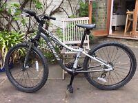 """Specialized Hard Rock Kids 24"""" wheel mountain bike"""