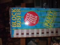 FOR SALE LARGE GARDEN BLOCK BUSTER GAME