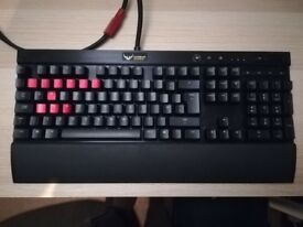 K70 Rapidfire Cherry MX Red Backlit Mechanical Gaming Keyboard