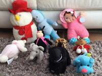 Selection of soft toys £2 the lot. Torquay collect.