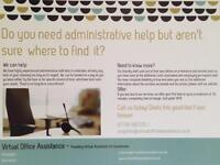 Pay as you go, virtual PA available (Admin Assistant / Secretary)
