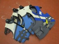 4x Brand New Sea-Doo Life Jackets Mixed Suze & Gender RRP £300