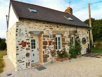 Just Renovated Chocolate Box Cute French Cottage In Loire Valley, France!