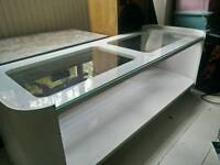 Genuine 70s vintage white coffee table