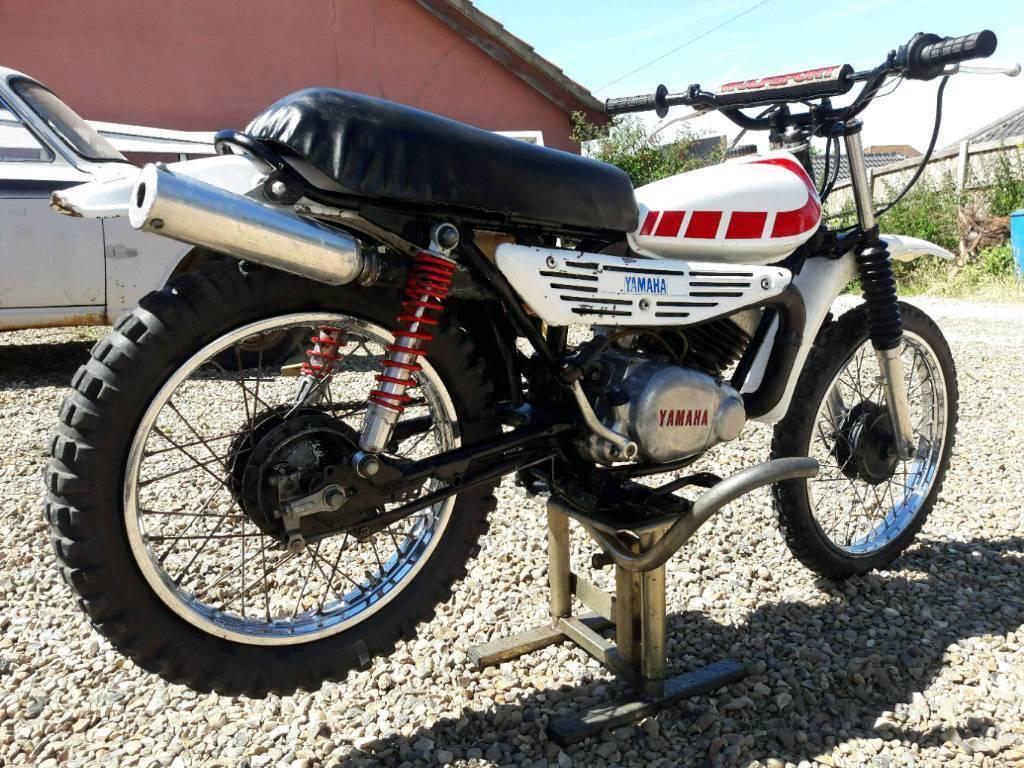 YAMAHA MX 100 CLASSIC MOTOCROSS VINTAGE TRIALS SCRAMBLER PROJECT TY 80 50  YZ DT 125 PW EVO