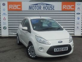 Ford KA ZETEC (£20.00 ROAD TAX) FREE MOT'S AS LONG AS YOU OWN THE CAR!!! (white) 2010