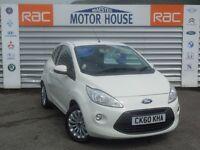 Ford KA ZETEC (£20.00 ROAD TAX) FREE MOT'S AS LONG AS YOU OWN THE CAR!!! (white) 2010