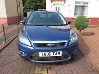 Ford Focus 1.6 TDCI 2009 for sale reduced £3,200 MOT March 2017 satnav bluetooth all the toys