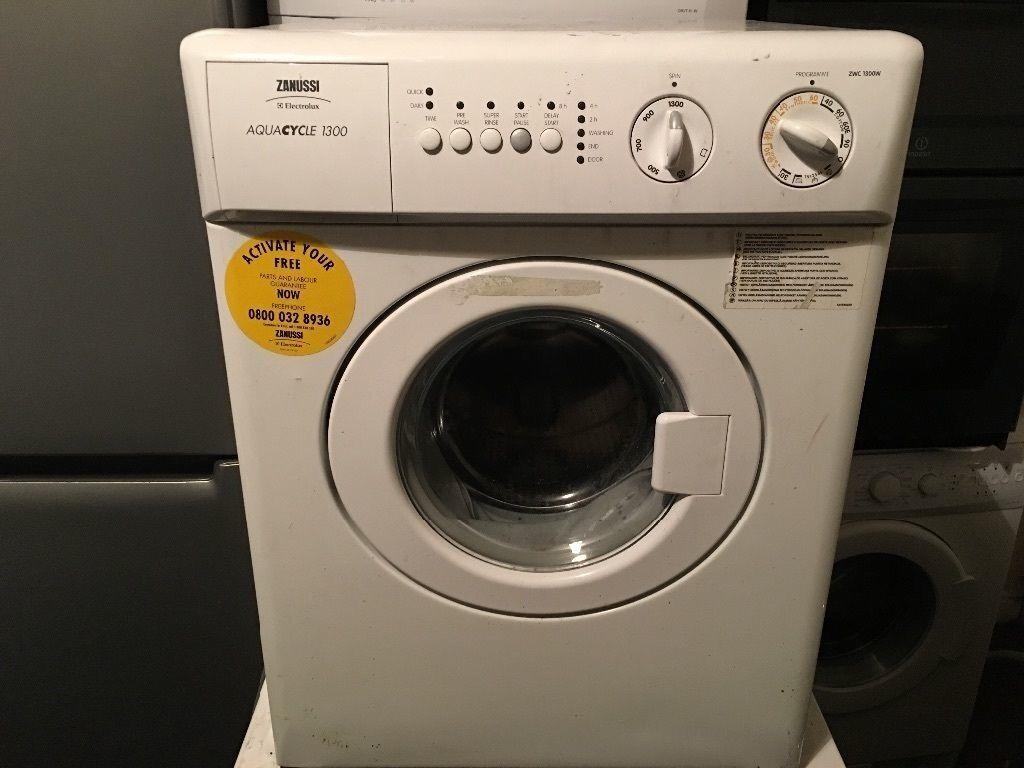 Miniature Washing Machine Zanussi Electrolux Aquacycle 1300 Zwc 1300w Mini Washing Machine