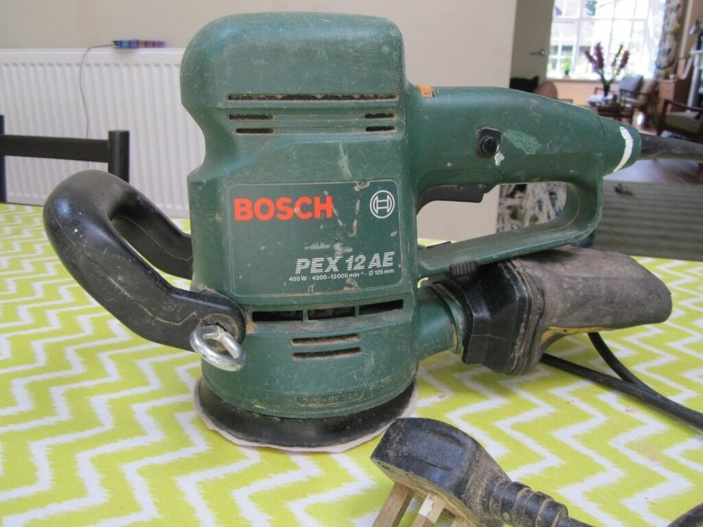 bosch pex 12ae random orbital sander in good condition in twickenham london gumtree. Black Bedroom Furniture Sets. Home Design Ideas