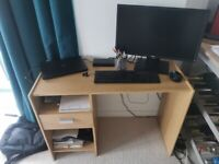 Large Computer Desk with Drawer