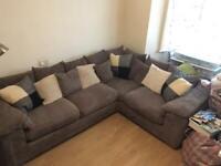 Left corner Sofa Taupe