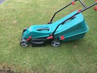 electric Bosch lawn mower