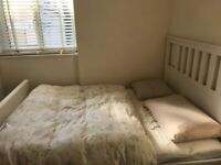 Double Bed IKEA Hemnes (incl. IKEA Morgedal mattress)