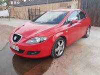 2006 SEAT LEON 2.0 TDI SPORT DIESEL 6 SPEED FULL SERVICE MINT NOT GOLF GT FR
