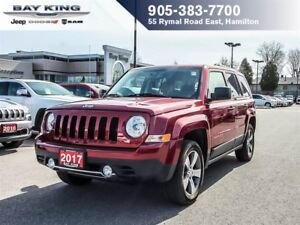 2017 Jeep Patriot PATRIOT HIGH ALTITUDE 4X4, SUNROOF, BLUEOOTH,