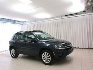 2014 Volkswagen Tiguan VW CERTIFIED! 2.0L TSi Turbo! 4-Motion AW