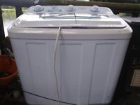 Portable mini washing machine for home boat or camping