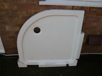 SHOWER BASE TRAY 900MM x 900MM.. QUADRANT ( COST APROX. £90 FROM B&Q) BRAND NEW ( NEVER FITTED)