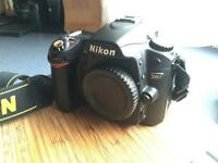 Nikon D80 camera body excellent condition, owned from new, ideal Xmas gift